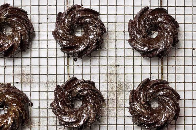Paleo Chocolate Olive Oil Bundt Cake