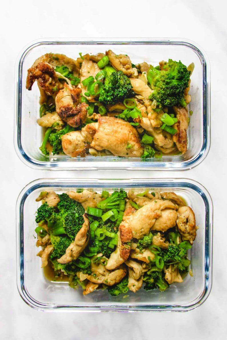 Whole30 chicken broccoli for meal prep