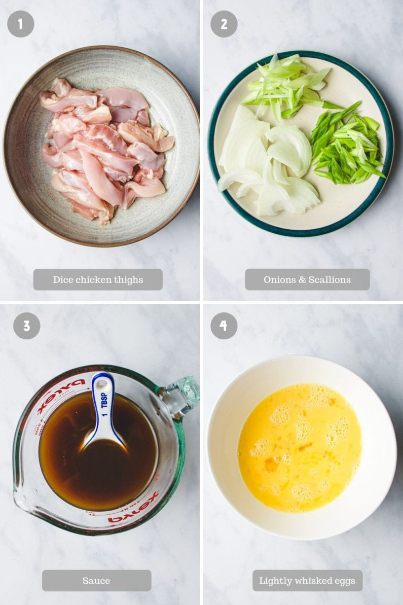 how to make oyako donburi from I Heart Umami