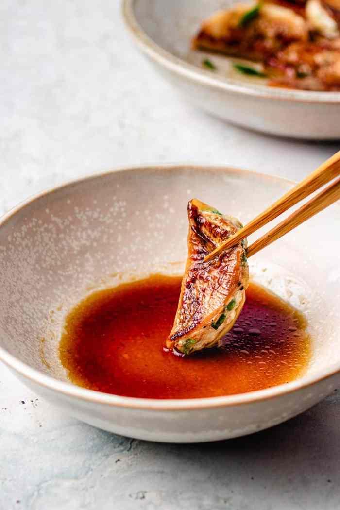 Chinese dumpling dipping sauce gluten free I Heart Umami