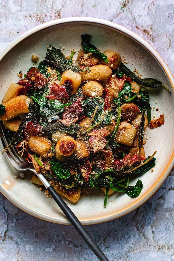 Cauliflower Gnocchi Sage Bugger Sauce Paleo I Heart Umami