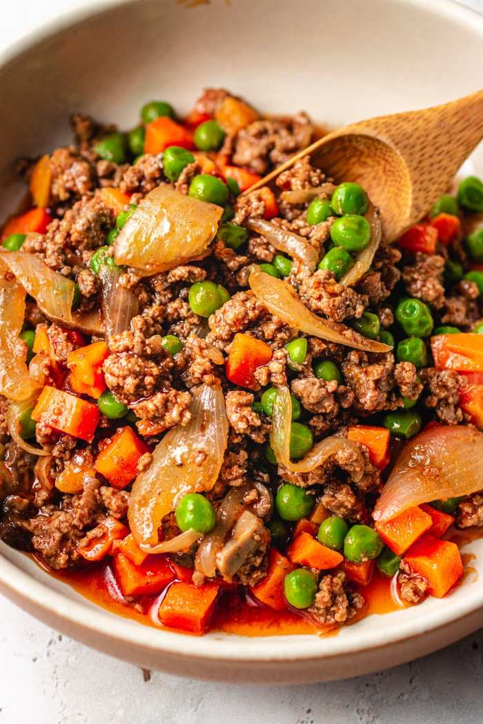 Easy keto ground beef recipe is Paleo and Whole30 friendly I Heart Umami.