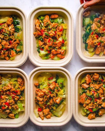 Paleo low carb meal prep ideas with freezer meal prep choices from I Heart Umami.