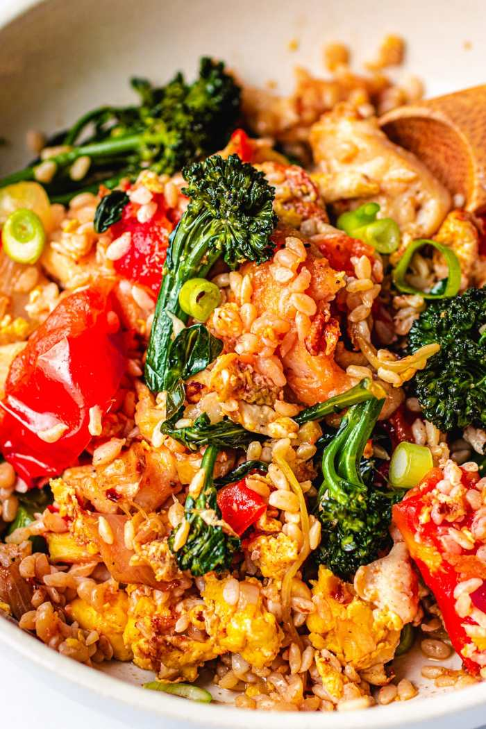 Low Carb Shirataki Thai Fried Rice I Heart Umami