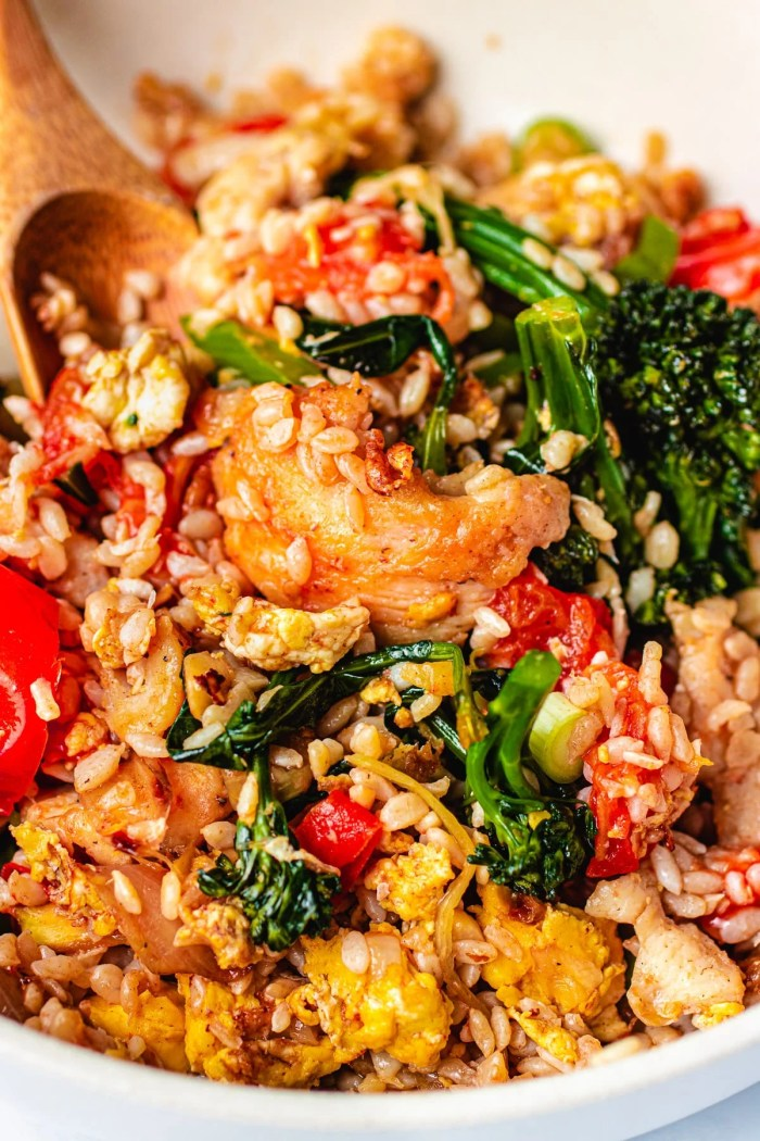 Konjac Thai fried rice Paleo I Heart Umami