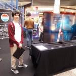 Ee VR Stand beim Shopping Zenter Kierchbierg.