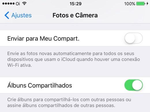 iCloud My Photo Share iOS