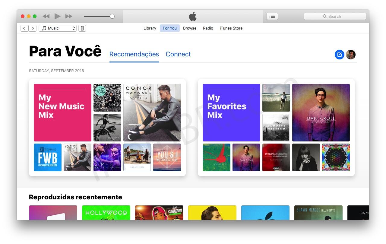 Assinantes do Apple Music no iOS 10 e macOS Sierra começam a
