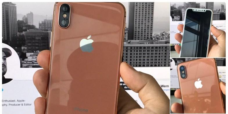 iPhone 8 em novo tom de dourado.