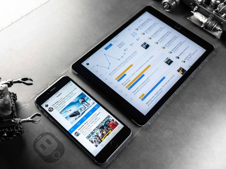 Tweetbot para iPhone e iPad.