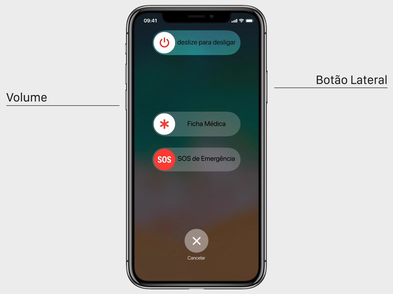 Como Desligar Iphone X