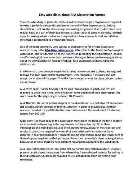 apa style citation doctoral thesis proposal
