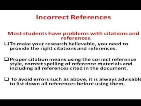 Errors to avoid when writing a thesis Contraction        Where