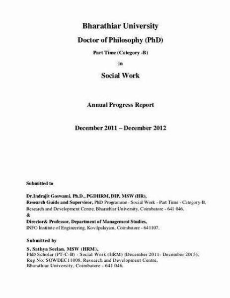 Research Progress Report Sample Phd Dissertations  EssaypaperOrg