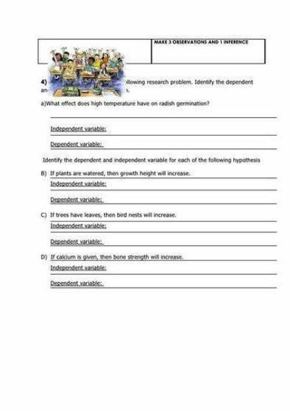 Writing A Good Hypothesis Worksheet 2 Essaypaper