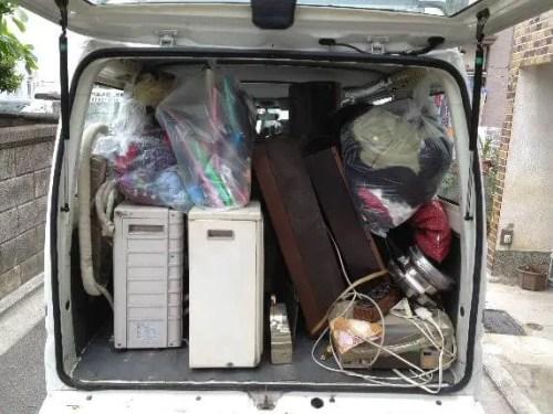 吹田市の遺品整理で出た家電などの粗大ゴミを回収するトリプルエス