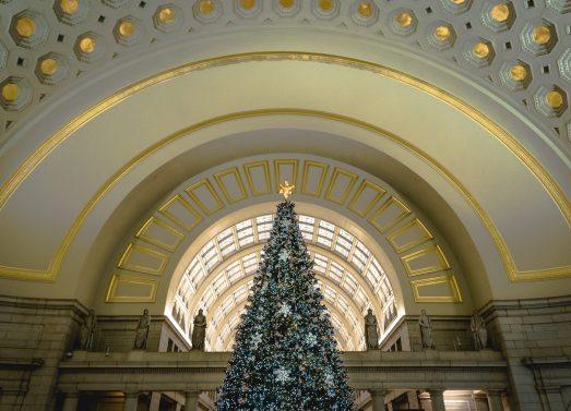 Union Station Christmas Tree