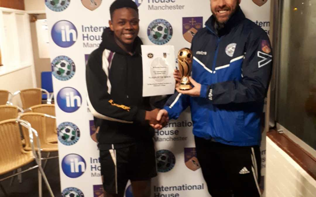 McDonald Wins Player of the Month