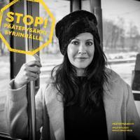 Vuokko Hovatta on mukana STOP! Päätepysäkki syrjinnälle-kampanjassa