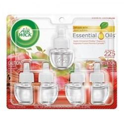 ihocon: Air Wick Scented Oil 5 Refills, Apple Cinnamon Medley 空氣清新劑補充瓶 5瓶