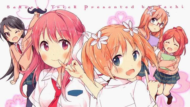 El manga Sakura Trick finalizará el 16 de agosto