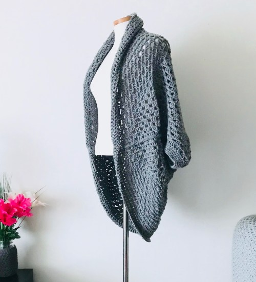 The Bitmap Oversized Shrug