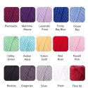 Merino Wool Colour Chart