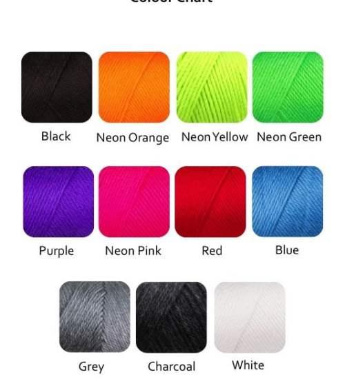 Soft Colour Chart
