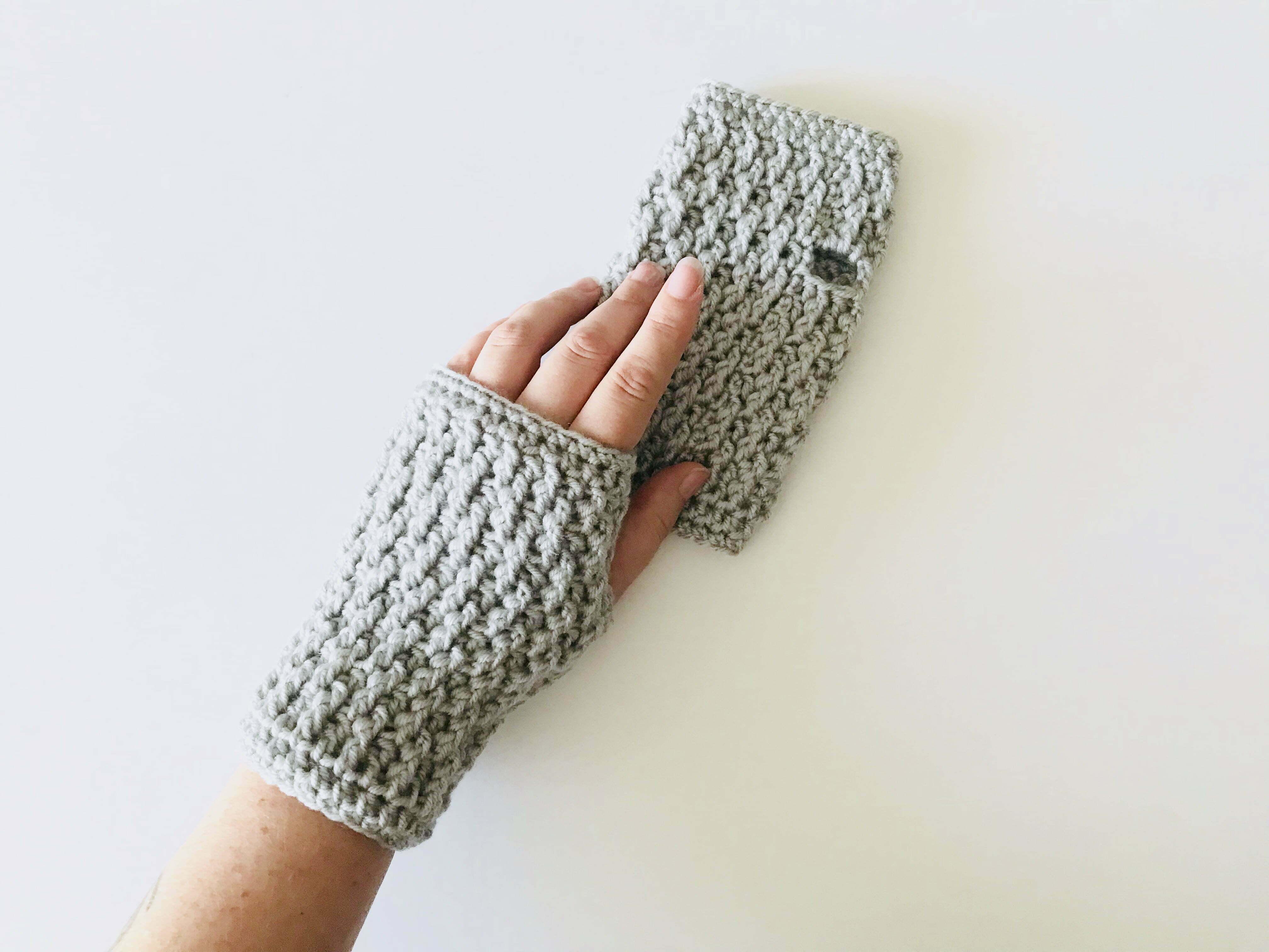 Rt Click Fingerless Gloves