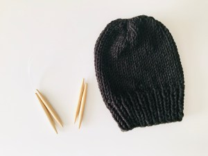 Tag Toque Free Knit Pattern