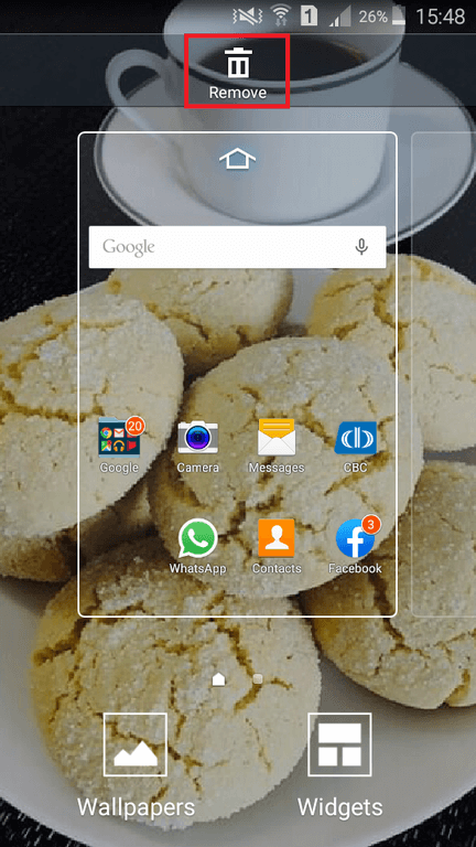 How to Delete the Google Search Bar from Android Home Screen