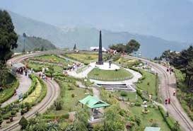 Batasia Loop Darjeeling, West Bengal