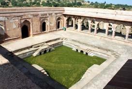 Baz Bahadurs Palace Mandu