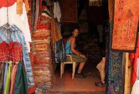Bhatia Bazaar in Jaisalmer, Rajasthan