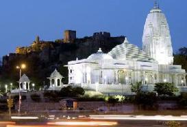 Birla Mandir, Jaipur in Rajasthan