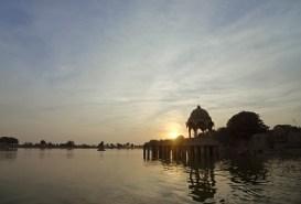Gadsisar Lake in Jaisalmer in Rajasthan