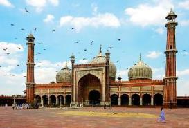 Jama Masjid in Delhi, India