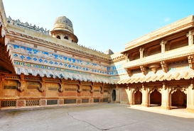 Man Singh Palace in Gwalior