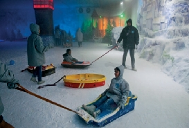 Snow World in Mumbai