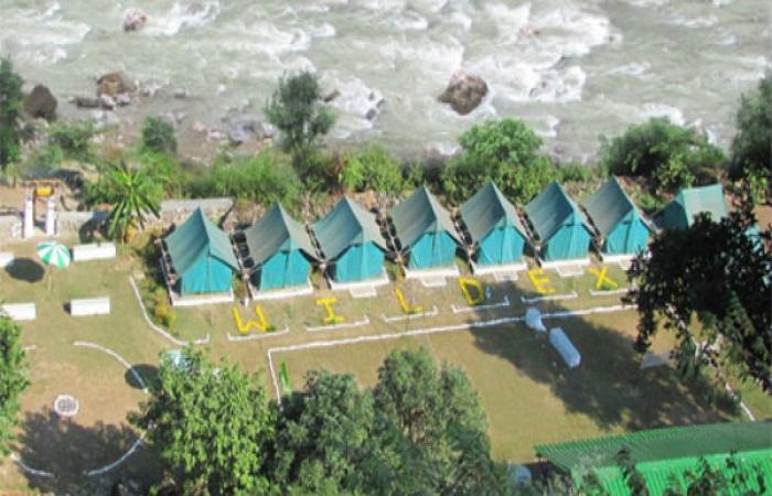 Wildex Camp Rishikesh (257 km from Delhi)