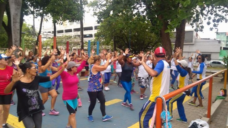 People participating in physical activity in Recife city