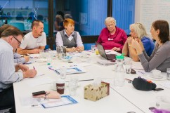 LGBTI Health round table meeting on intersex, trans and gender diversity issues