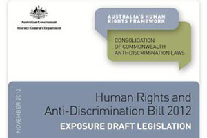 Human Rights and Anti-Discrimination Bill