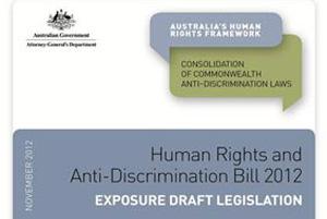 Human Rights and Anti-Discrimination Bill