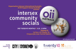 Intersex community socials