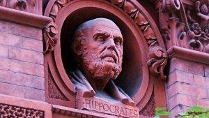 Hippocrates - statue