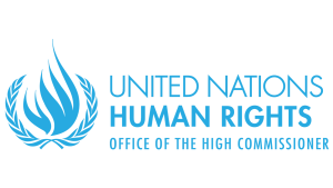 The logotype of the Office of the High Commissioner for Human Rights