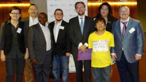 intersex participants at the expert meeting with the UN High Commissioner for Human Rights