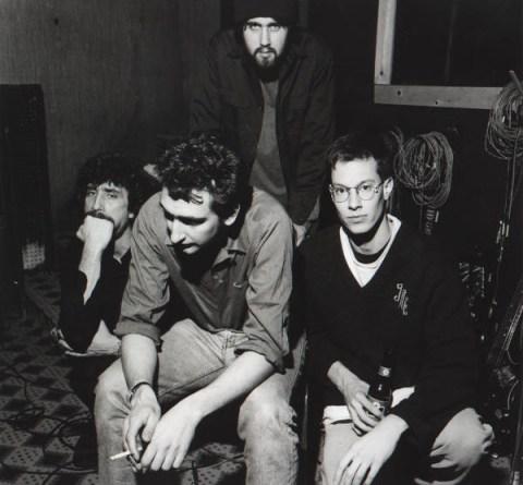 Gaunt-Band-Photo Amphetamine Reptile - A-Z - Gaunt
