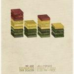 No-Age-Tour-Poster-4 No Age - 2009 Fall Tour Dates + Posters